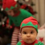 Montando el árbol de navidad…