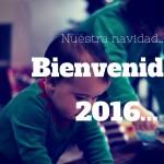 BIENVENIDO 2016… y adios a la Navidad