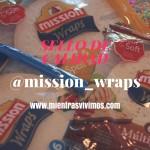 Sello de calidad Mission Wraps: recetas sanas y divertidas