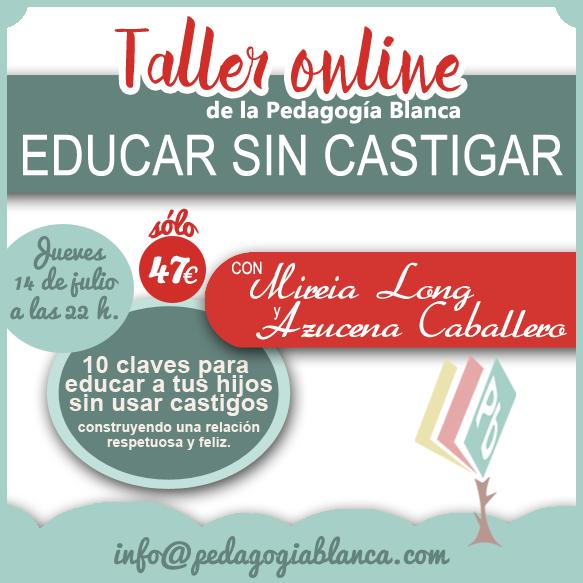 taller online educar sin castigar